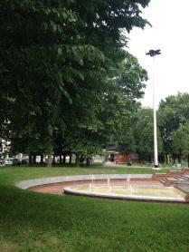 la fontana di Parco Odazio