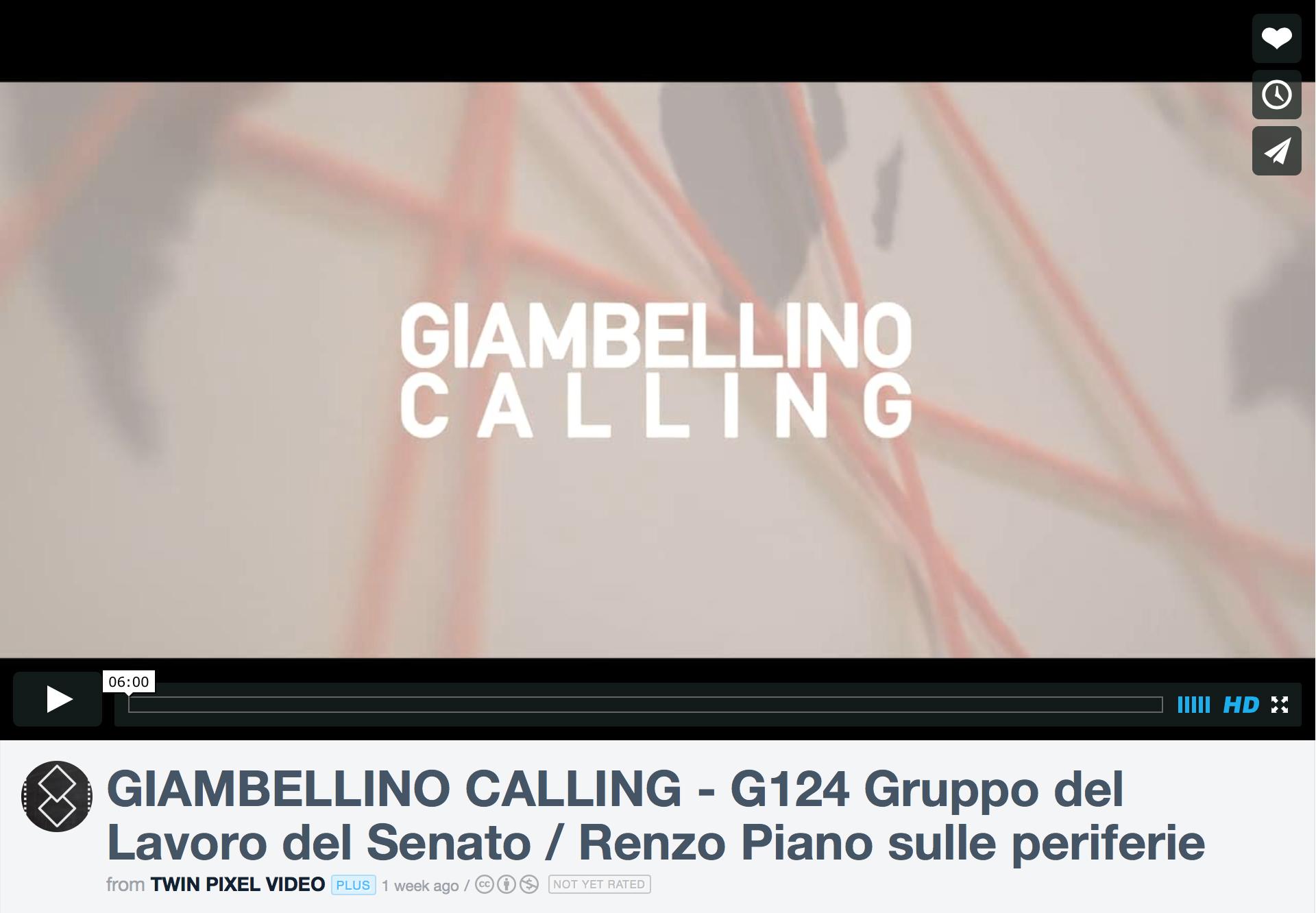 video iniziativa Giambellino Calling 7 novembre 2015